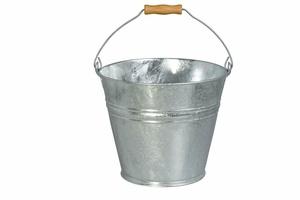 Askhink 8 L i zink med lock